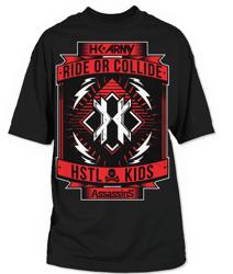 HK Army T-Shirt Assassins Tee (black)