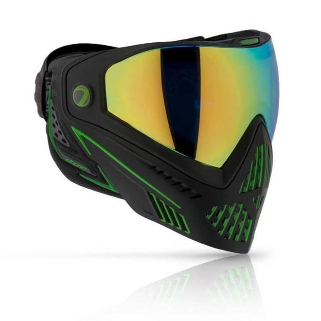 Maska DYE I5 Emerald (black/lime)